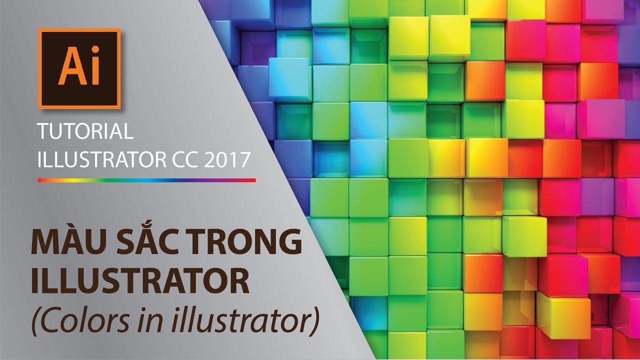 Illustrator Part 2.1 – Cách sử dụng bảng điều khiển màu sắc Swatches, Color guider, Color Pick