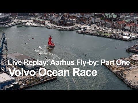 Live Replay - Aarhus Fly-By: Part One | Volvo Ocean Race