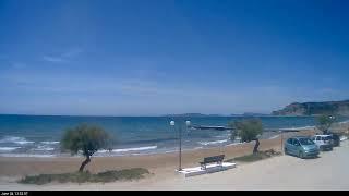 Arillas Live Webcam Corfu Greece   www.arillas.com