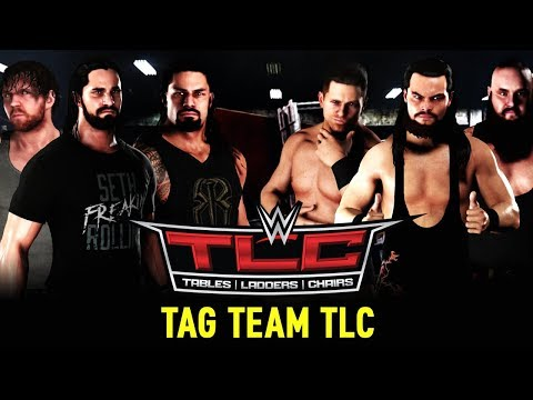 WWE TLC 2017 📺 TABLES, LADDERS & CHAIRS MATCH • WWE 2K18 Orakel