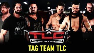 WWE TLC 2017 📺 TABLES, LADDERS & CHAIRS MATCH • WWE 2K18 Orakel