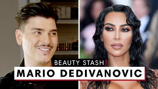Kim Kardashian's Makeup Artist Mario Dedivanovic's MAJOR Beauty Stash | Harper's BAZAAR