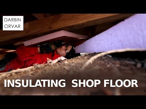 Insulating the Floor of my Shed to be Workshop