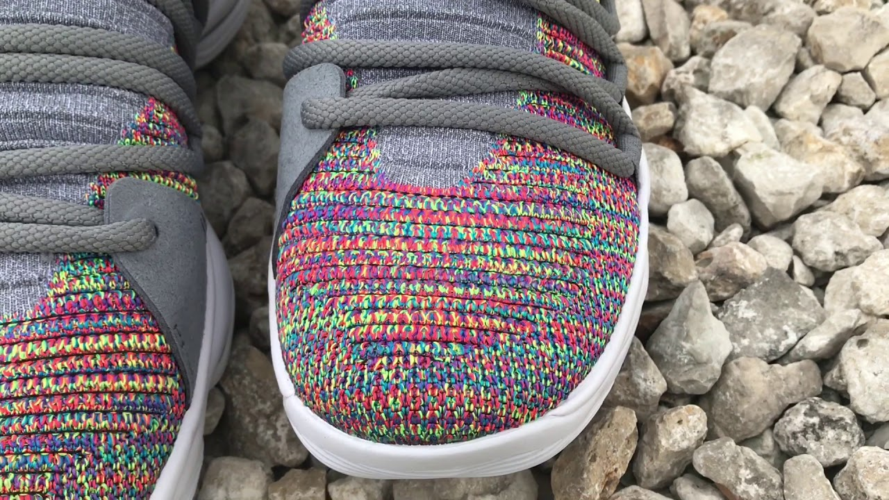 86aab40c3a4f KD X Multicolor On Foot KD 10 On Foot And Detailed Look - YouTube