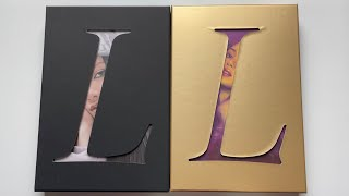 Download ♡Unboxing Lisa 리사 1st Single Album LALISA 라리사 (Black & Gold Ver.)♡