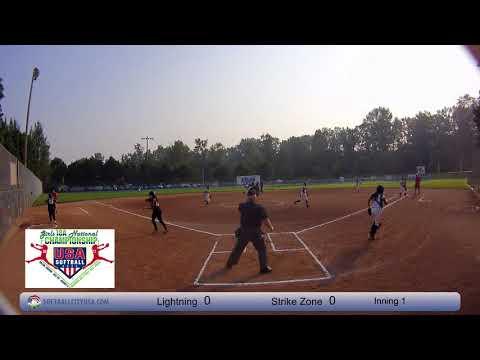 Wisconsin Lightning vs. Strike Zone - 2017 18A Fastpitch National