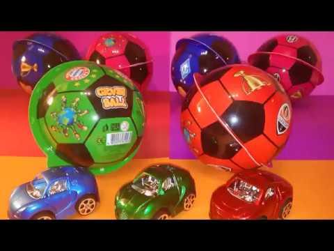 Огромние Мячи Киндери с Сюрпризом