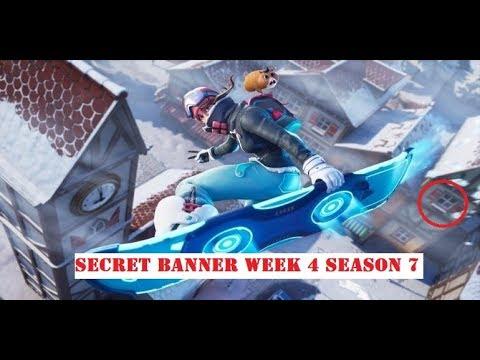 Download Find the Secret Banner in Loading Screen #4    LOCATION WEEK 4 CHALLENGE Fortnite Season 7