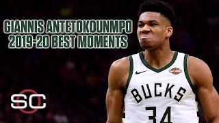 Giannis Antetokounmpo's top 10 moments from the 2019-20 NBA season… so far | SportsCenter