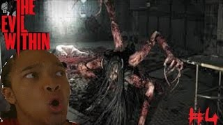 SPIDER BITCH The Evil Within Playthrough 4