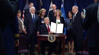 "U.S. leaders split over Trump's crackdown on ""sanctuary cities"""
