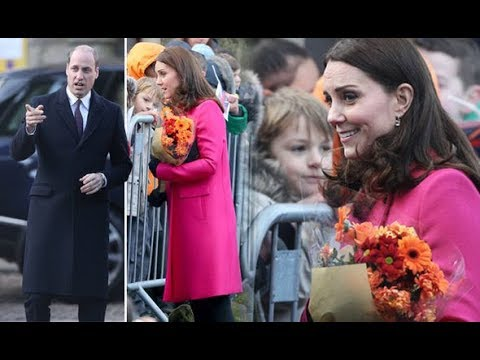 Could Kate Middleton third child gender revealed when she rewears Mulberry coat in Coventry?