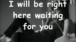 Richard Marx - Right Here Waiting For You (Karaoke)