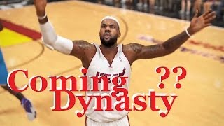 NBA 2K14 San Antonio Spurs Vs Miami Heat PC GamePlay - GTX670 DX9 Ultra Settings 1080P