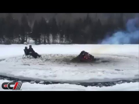 Beer and fire (on ice) - Meanwhile, in Canada