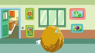 Plants vs. Zombies Animation : The smart picture of Wall-nut