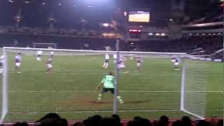 West Ham 2-3 Tottenham *Goal by Gareth Bale* (25/2/13) (final score 2-3)