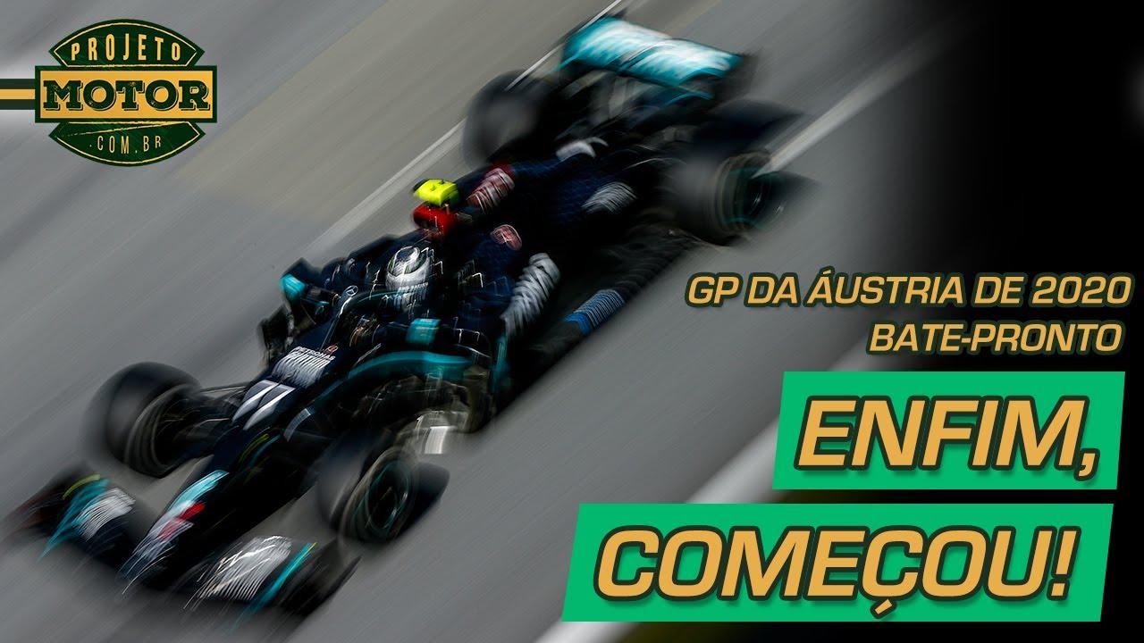 Bate Pronto: GP da Áustria: começo agitado e polêmico da F1 em 2020