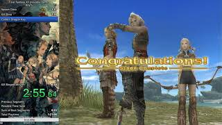 Final Fantasy XII playable demo any% Speedrun 6:35