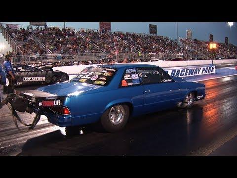 200 mph on 315 RADIAL TIRES !! - Tulsa Raceway Park