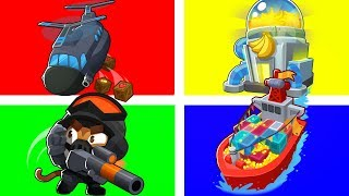 Bloons TD 6 - 4-Player Money Hungry Challenge | JeromeASF