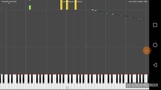 Too funky - George Michael Midi piano cover