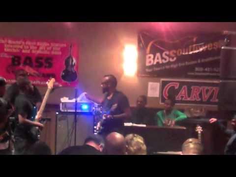 Ethan Farmer Performing at NAMM 2014 BASS BASH