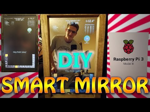 How To: Make Your Own Smart Mirror! part 1