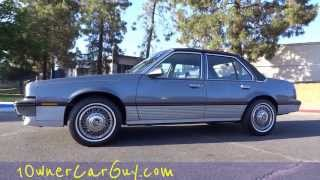 Cadillac Cimarron Sedan 2.8L V6 1 Owner 70,000 Original Miles Test Drive Video Review Cavalier