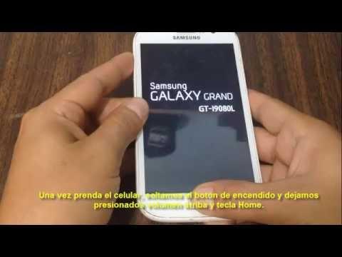 Hard Reset Samsung GALAXY Grand I9080L---Como formatear, desbloquear, restaurar