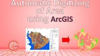 Automatic Digitizing of Areas, Using ArcGIS | Digitasi Otomatis Pada ArcGIS
