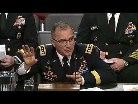Senator Sullivan Questions U.S. European Command on Russia's Military Build-Up in the Arctic