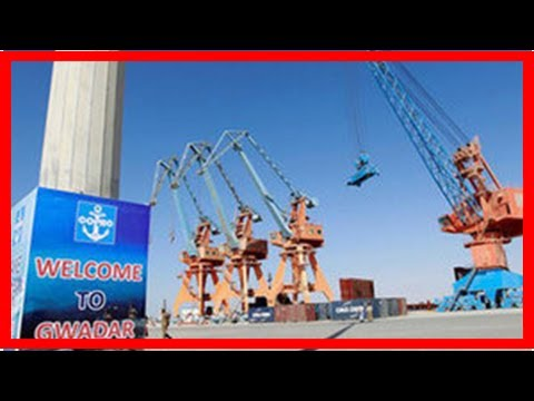 TODAY NEWS - Hope to expand the scope of maritime access, China lavishes aid on pakistan town