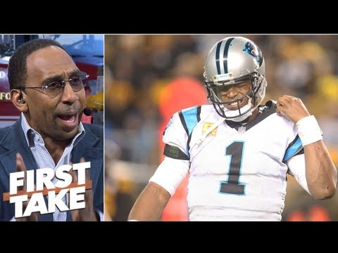 Panthers stunk up the joint in 52-21 loss to Steelers - Stephen A. | First Take