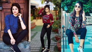 Top jeans poses || stylish girls with jeans fashion || latest poses for girls in jeans || smileysoni screenshot 1