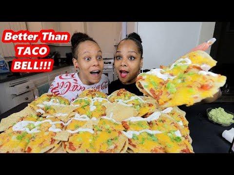 HOMEMADE MEXICAN PIZZA MUKBANG!!