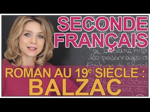Le roman au 19e siecle : Balzac - Français - Seconde - Les Bons Profs