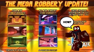 Roblox Jailbreak | How to Rob the New Robbery Banks! (NEW UPDATE!)