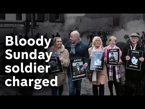 Bloody Sunday soldier faces murder charges