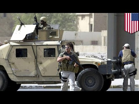 Blackwater trial: US guards found guilty in Baghdad killings
