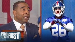 Cris Carter reveals how Saquon Barkley will elevate the New York Giants | NFL | FIRST THINGS FIRST