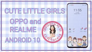 CUTE LITTLE GIRLS FOR OPPO REALME ANDROID 10 screenshot 4
