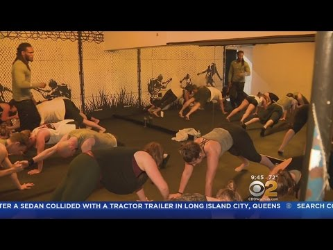 Ex-Cons Lead Fitness Classes