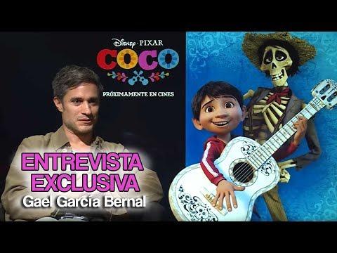 """Entrevista: Gael García Bernal """"Hector"""" - 'COCO'"""
