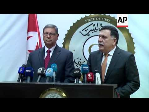 Tunisia PM visits Libya unity government