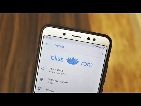 BlissROM 9.0 Pie For Redmi Note 5 Pro!
