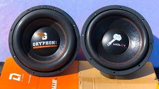 DL Audio Gryphon Lite 12 vs. Ural Molot 12 - сравнение сабвуферов до 5 000 руб. - #miss_spl