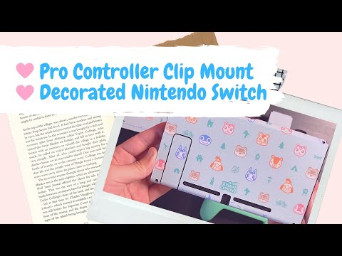 i-decorated-my-nintendo-switch,-and-also-made-my-pro-controller-clip-mount-more-secure