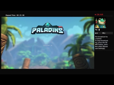 Paladins: Last one standing lives