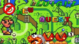 Luigi's New Quest (Demo) • Super Mario World ROM Hack